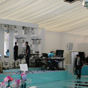 Batmitzvah Party Marquee Hire